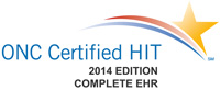 ONC certified HIT 2014 edition complete EHR